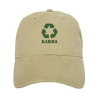 Recycled ball caps