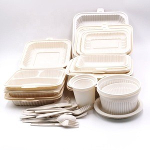 Biodegradable cups, plates & cutlery