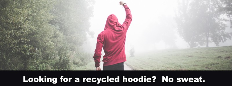 Recycled Hoodies - Men's & Unisex