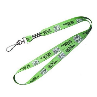 "Recycled Polyester Rush Lanyard (36""x3/4"")"